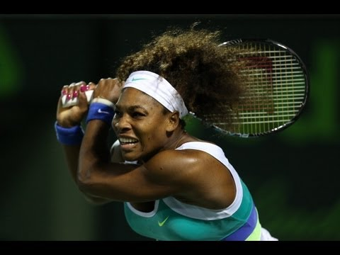 2013 Sony Open Tennis SF WTA Highlights