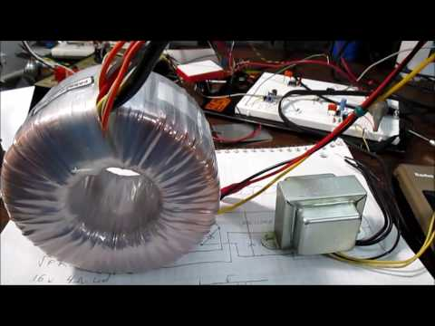 Selecting power transformer for audio amplifier