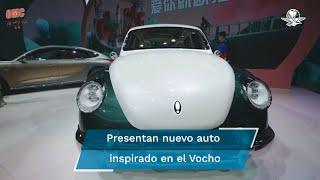 Debuta en China la copia eléctrica del mítico Volkswagen Vocho