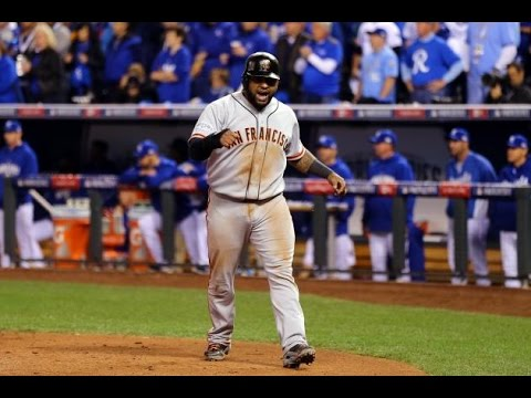 Pablo Sandoval Giants Postseason Highlights