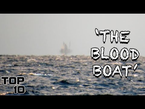 Top 10 Scary Ghost Ship Stories