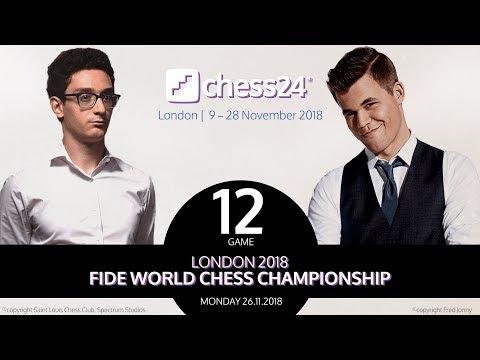 Caruana-Carlsen Game 12 - 2018 FIDE World Chess Championship