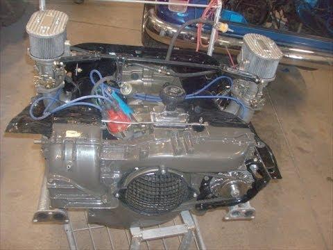 Classic  VW Bus Motor Rebuilt, By lastchanceautorestore.com