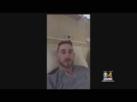 Hayward Sends Video Message To TD Garden Before Celtics Game Tonight