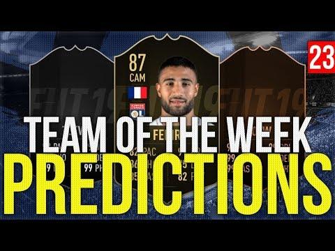 FIFA 19 - TOTW PREDICTIONS 23 | FEKIR | NAINGGOLAN | OBLAK