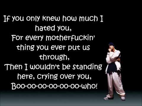 Eminem - Puke (lyrics on screen)