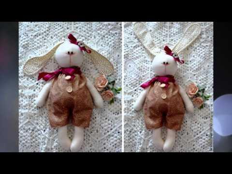 Видеозапись Заяц своими руками часть1 Hare, rabbit ideas for hand made part1