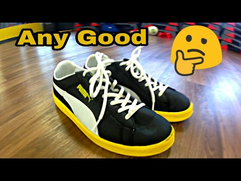 Puma Archive lite Lo Ripstop Freestyle Football Test - YouTube fb210ee38