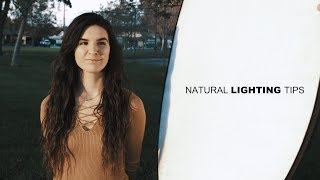 Using NATURAL LIGHTING to make Professional Music Videos Ft. Tyler Casey