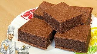 Шоколадный пирог Брауни - быстро и вкусно!