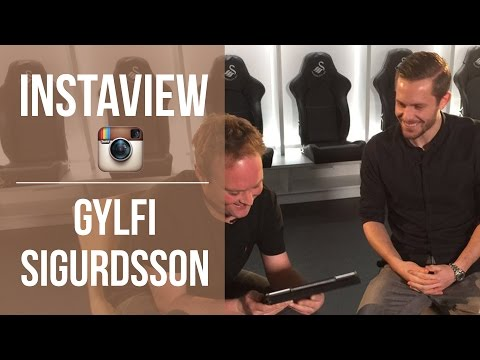 The Icelandic David Beckham? Tubes' Instaview with Gylfi Sigurdsson.