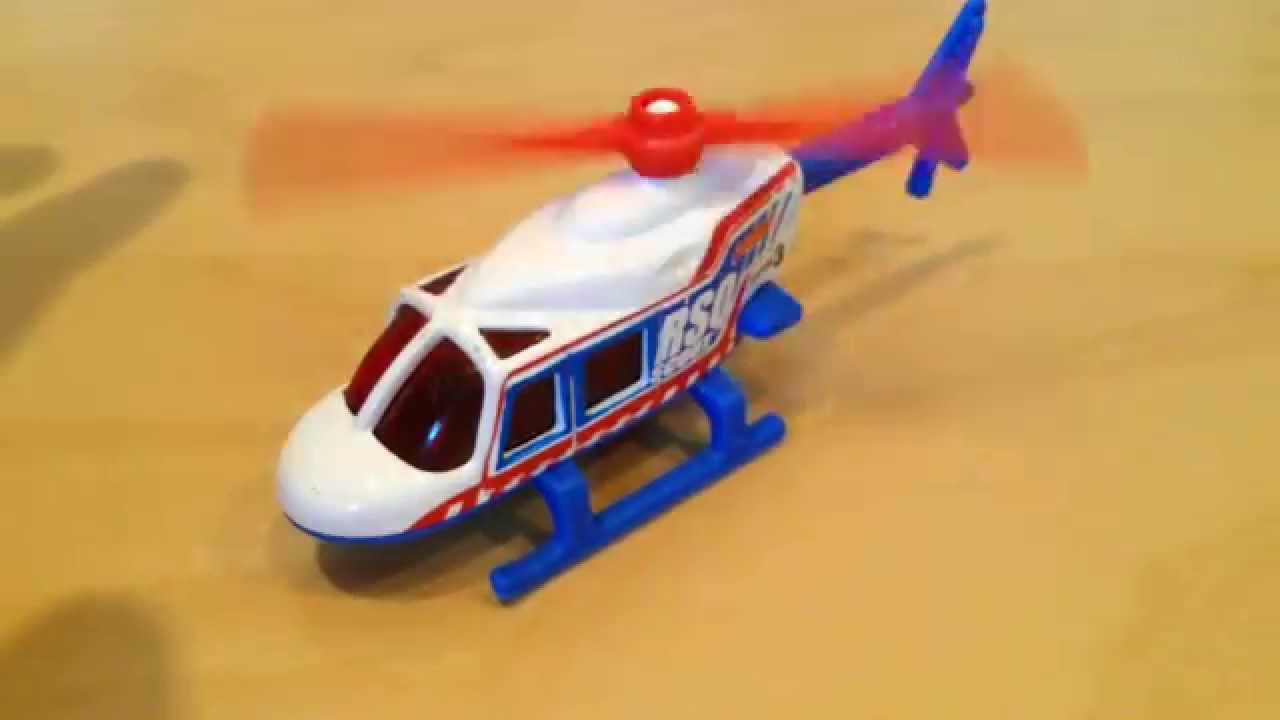 Hot Wheels Propper Chopper (2015 HW Rescue)