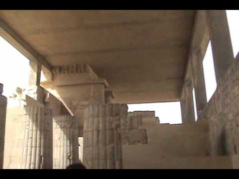 Saqqara - Step Pyramid of Zoser - Sand Storm