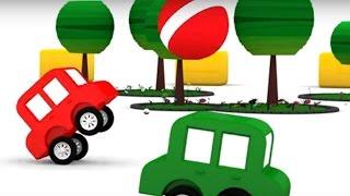 Lehrreicher Zeichentrickfilm - Die #4kleinenAutos - Wer hat denn die Torte geklaut?