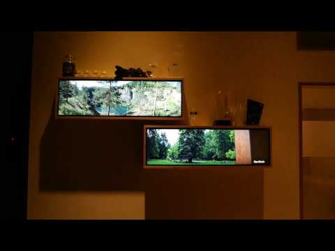 Semi Stretched LCD Displays...
