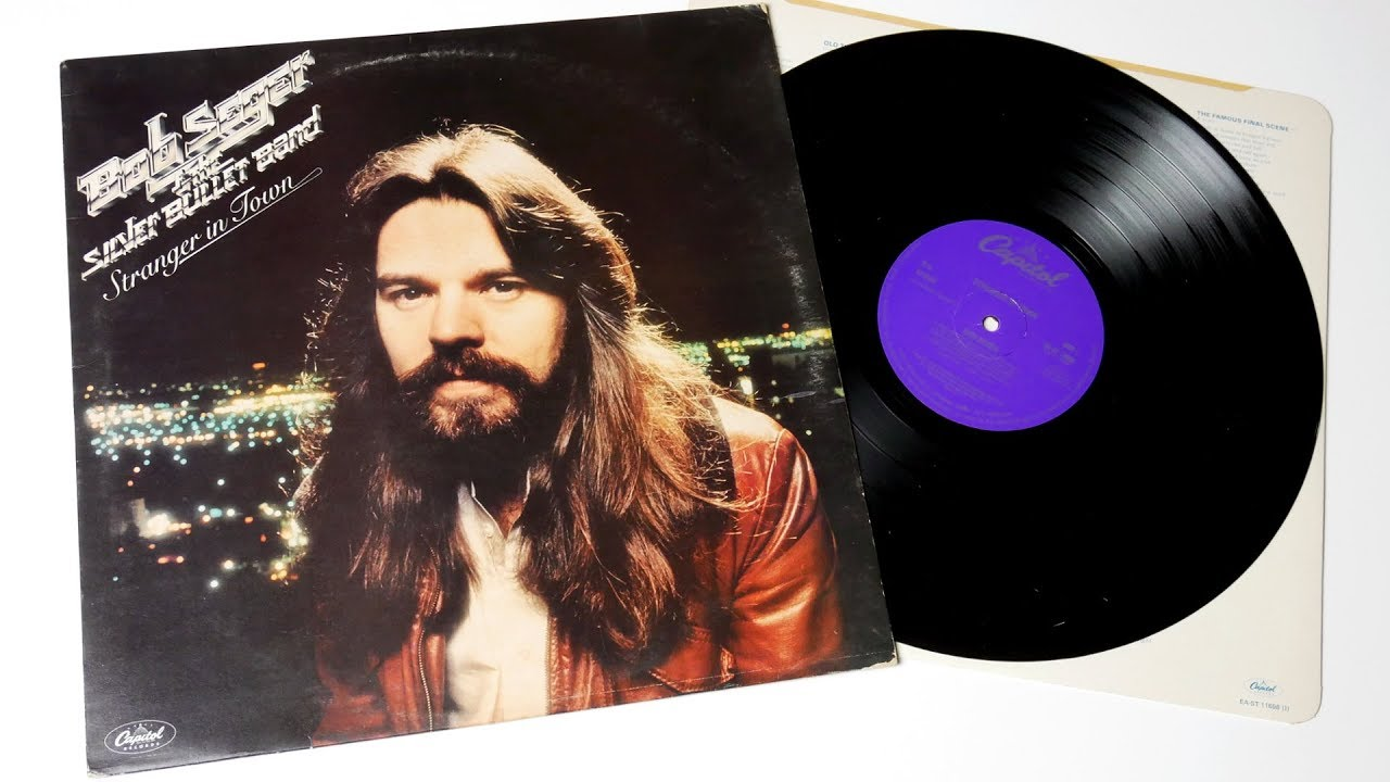 bob seger the silver bullet band stranger in town vinyl unboxing youtube. Black Bedroom Furniture Sets. Home Design Ideas
