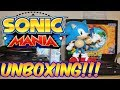 Sonic Mania Collectors Edition - Unboxing + Genesis Comparison! | Haku Firestone