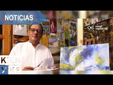 Guillermo Romero, el artista de la espátula