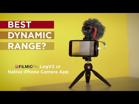 Use FiLMiC Pro LOG or Native iPhone Camera App?