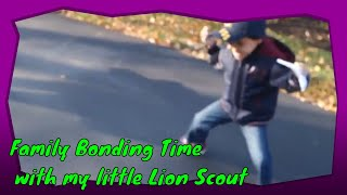 Family Bonding Time with my little Lion Scout