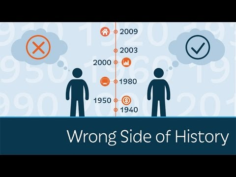 Are You on the Wrong Side of History?