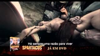 Spartacus - Sangue e Arena em DVD