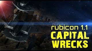 Eve Online - New Capital Wrecks - Rubicon 1.1 Update