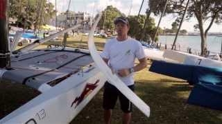 2014 A-Class Worlds - Nathan Outteridge Explains Foiling A-Class