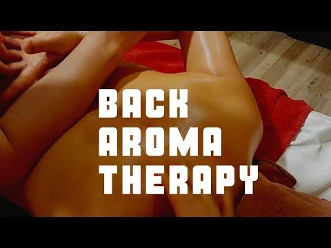 Back Aromatherapy Massage Asmr&Shoulder Massage