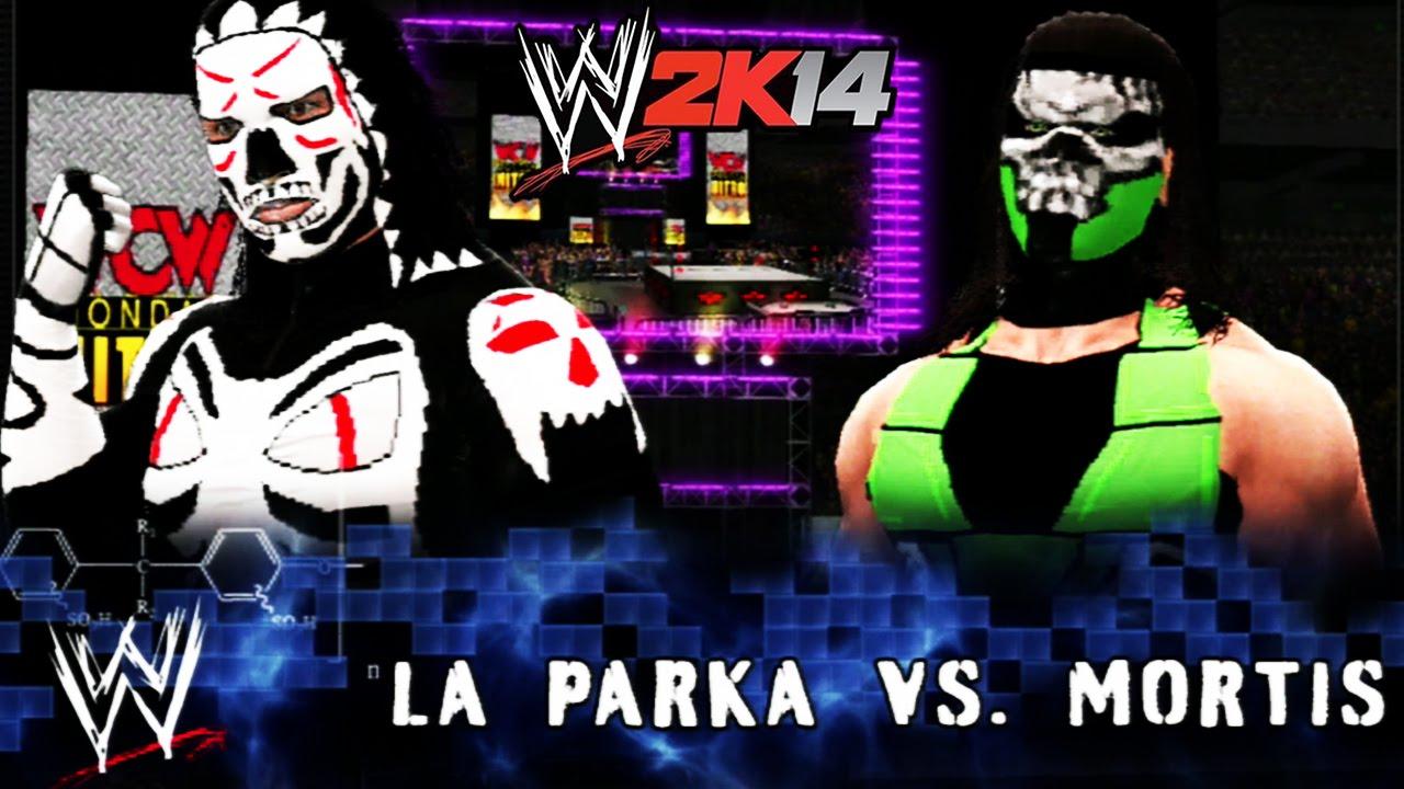 wwe 2k14 wcw monday night nitro la parka vs mortis