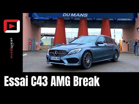 Une VRAIE AMG ? | C 43 AMG Break | V6 Bi-Turbo  367hp