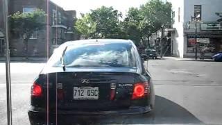 BALADE EN APE ...dans les jolies petites rues de MONTREAL...