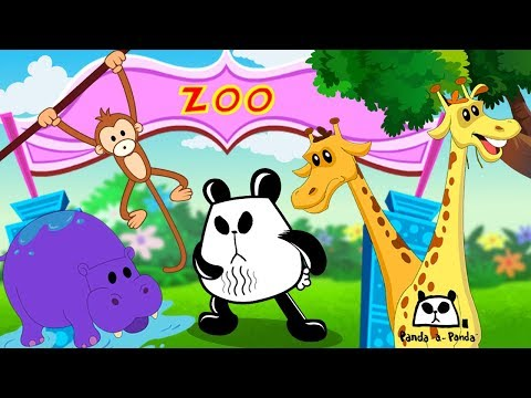 Zoo're In Trouble Now | Panda A Panda | Cartoon Videos For Toddlers by Kids Tv