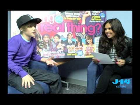 Kristinia DeBarge Interviews Justin Bieber!