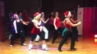 'All I want for Christmas' Mariah Carey easy dance choreography by Bettine Sarton