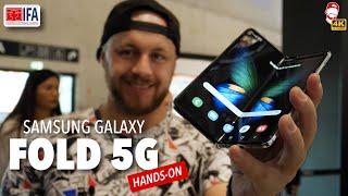 📱 Ohebný Samsung Galaxy Fold 5G je lepší než jsem čekal! (IFA 2019) | WRTECH [4K]