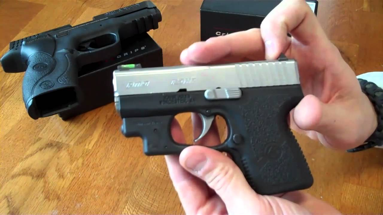 Kahr PM9 with Crimson Trace Grip