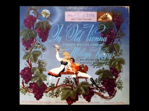 """Korjus sings """"Blue Danube"""" on RCA-Victor"""