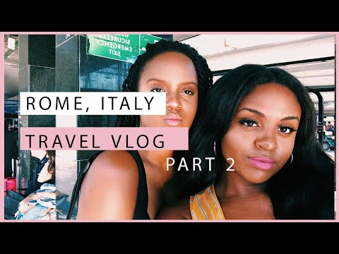 WHEN IN ROME | ROME, ITALY PART 2 | Travel Vlog | Journey with Jo & Dee