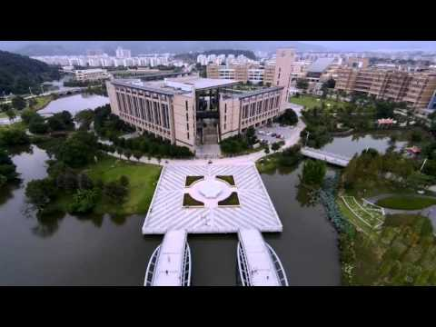 X-TEAM Brushless Motor Aerial Video.The Aerial Video located in Fuzhou University