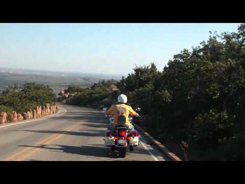 Motorcycles Down Mt. Scott