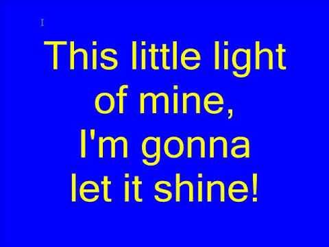 This Little Light Of Mine Karaoke