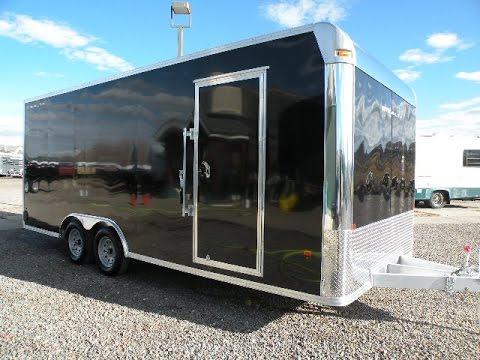 New 2017 Cargo Pro Stealth 8x20 Aluminum Enclosed Trailer - Colorado Trailers Inc.