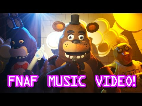 Five Nights At Freddys Live Action Music Video  - FNAF Song for kids