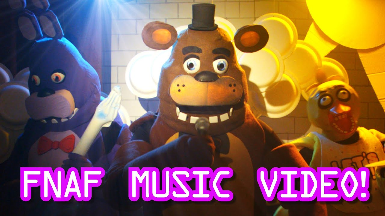 Dress up five nights at freedys - Five Nights At Freddys Live Action Music Video Fnaf Song For Kids Youtube