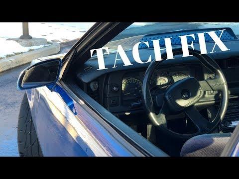 1990-1992 3rd Gen Camaro High Reading Tach Repair!
