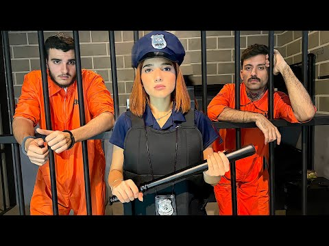 اشتغلت في السجن ل يوم كامل 👮🏻🚨
