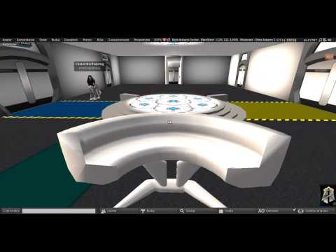 Second Life: United Federation Starfleet - Pathfinder Research Station (under construction)