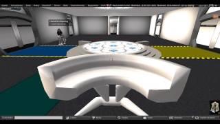 Second Life: United Federation Starfleet - Pathfinder Research Station (under construction)
