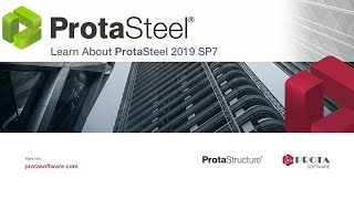 Part 4 - Learn About ProtaSteel 2019 SP7